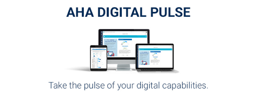 AHA Digital Pulse Logo